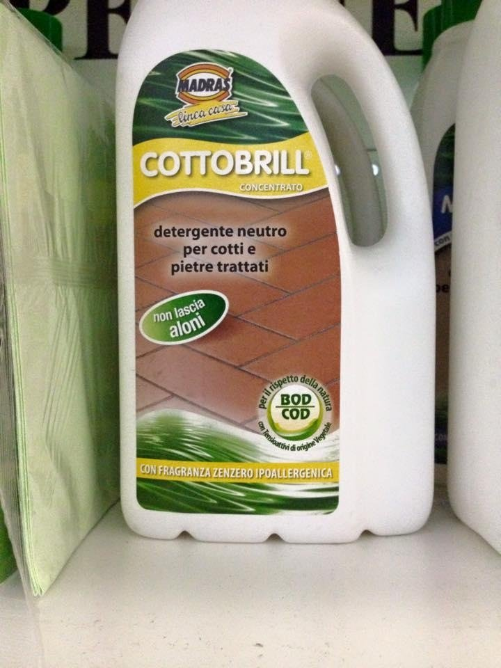 detergente per cotto