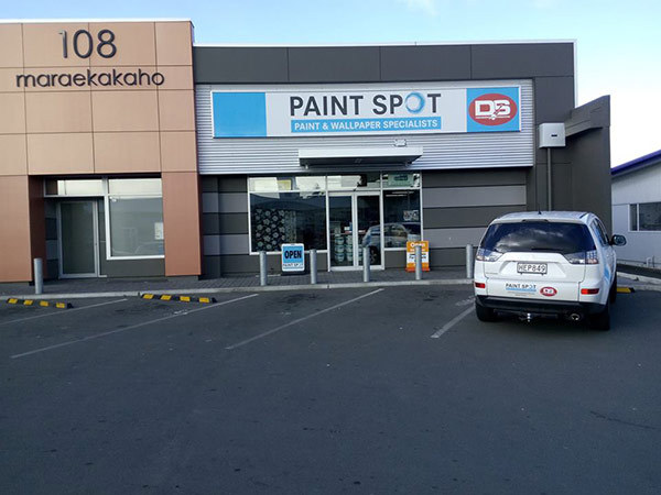 Paint shop in Hawkes Bay