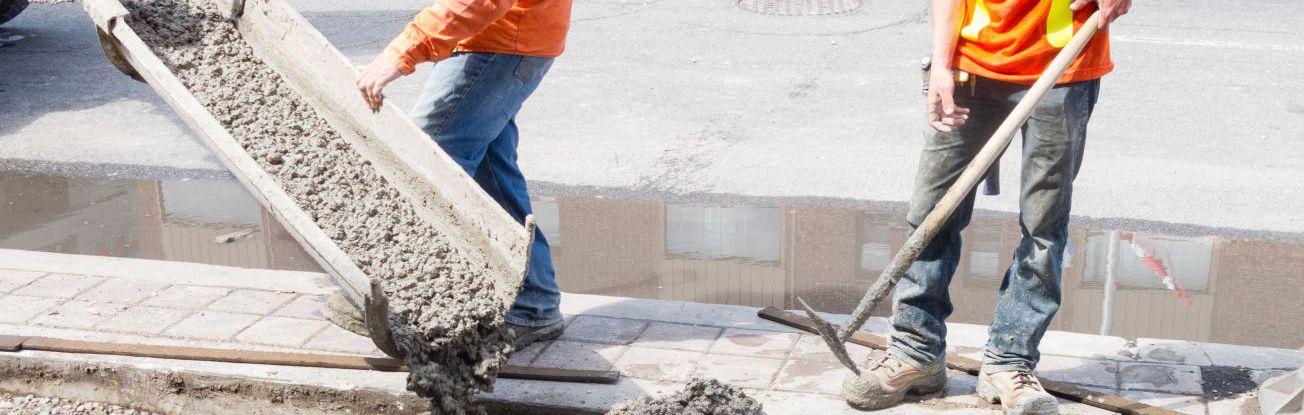 Professional concrete contractor materials in Anchorage, AK