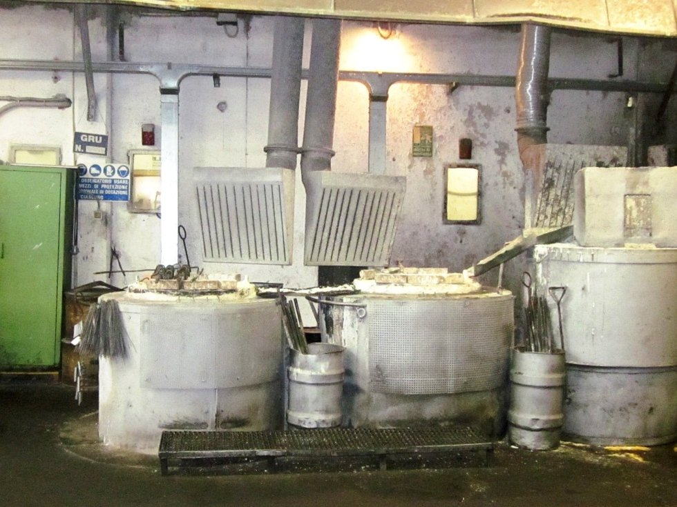 cementazione in bagni di sale