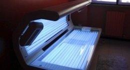 lettino solare, abbronzatura, lampada abbronzante