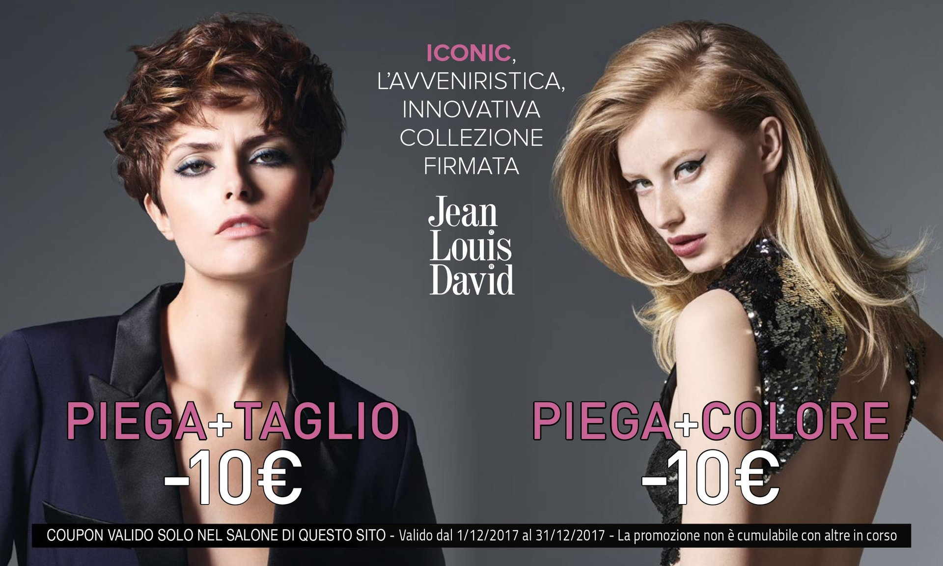 sconto JEAN LOUIS DAVID genova