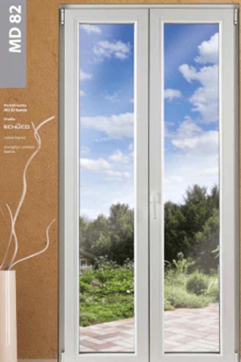 finestra allumino pvc