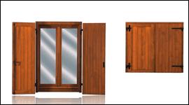 finestra con portellone
