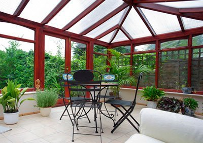 Polycarbonate UV protected roofing