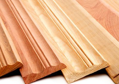 Timber skirting examples