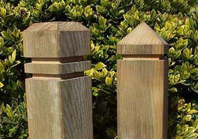 Timber bollards profiles