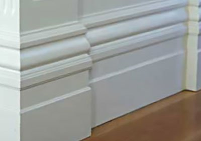 Primed architraves