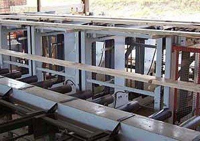 Timber sawmill machinery
