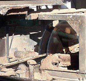 Hayters sawmill saw
