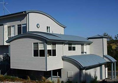 Metal steel roofing for residential structures