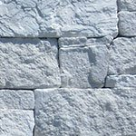 Dry stackstone limestone