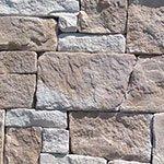 Dry stackstone sandstone