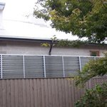 privacy louvre screen fence