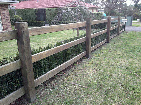 fencing products goulburn hayters timber and paving