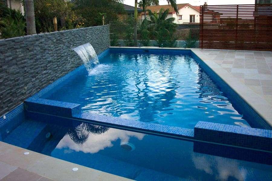 Metallic Pool Tile : Glass tiles goulburn hayters timber and paving