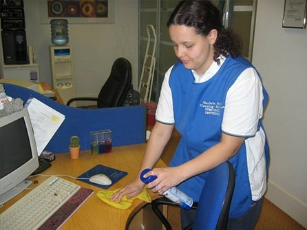 Thorough office cleaning services
