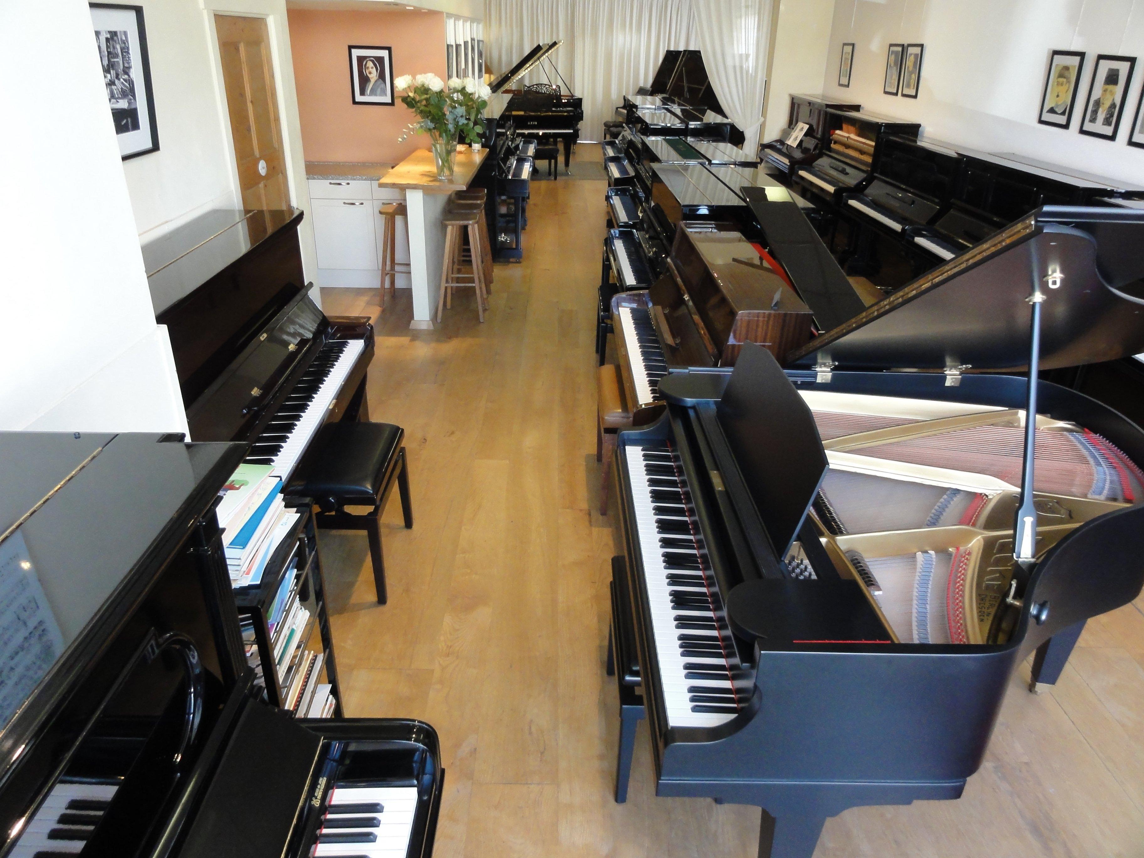 Piano's en vleugels