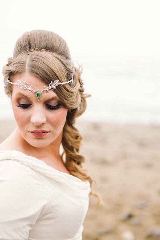 respledent bride