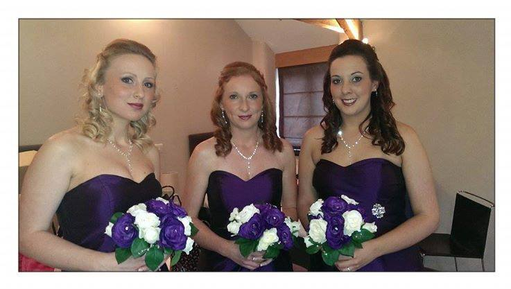 pretty bridesmaids