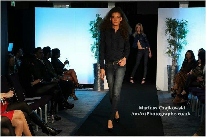 walking the ramp