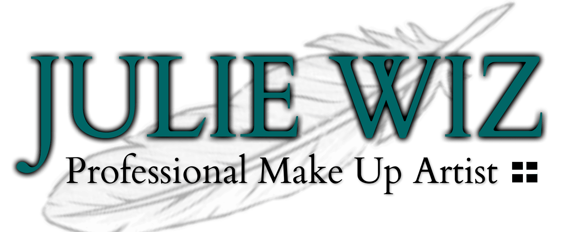 Julie Wiz Professional Make Up Artist logo