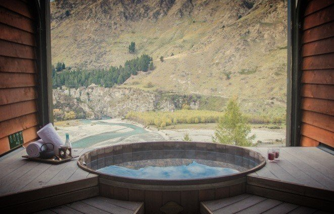 onsen hot pools and spa massage queenstown