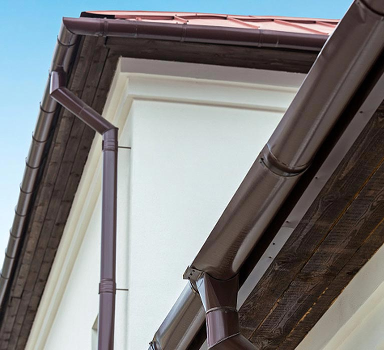 top cat roof and gutter services gutter gutter in side wall