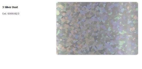 foil design silver dust