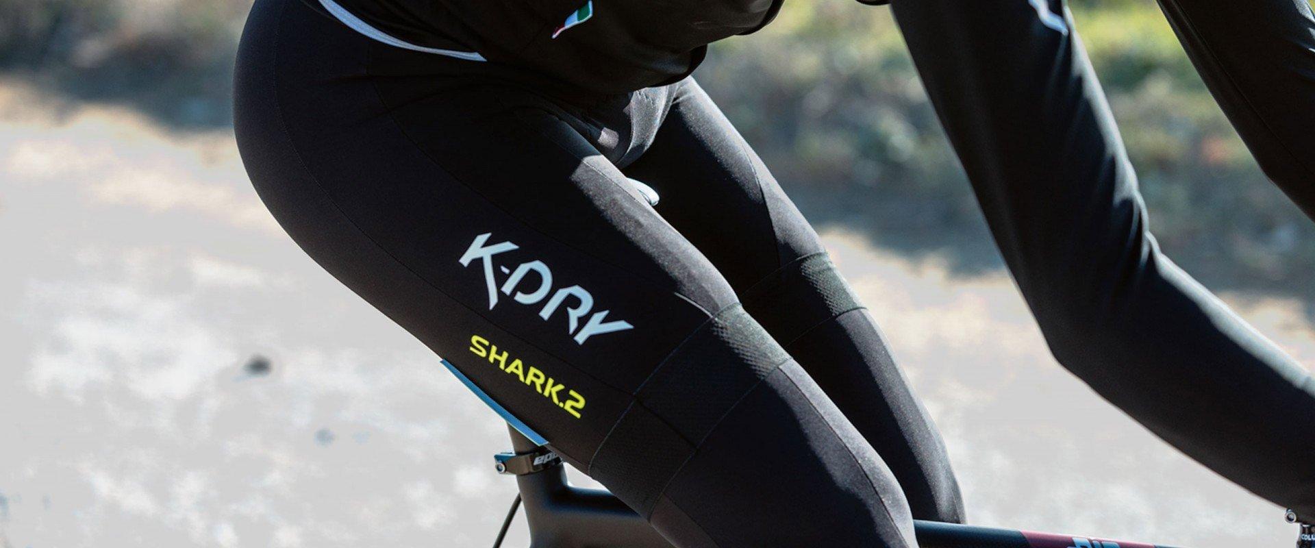 pantaloncini tecnici per ciclismo