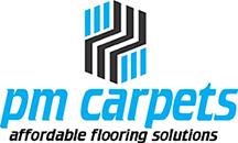 pm carpets logo