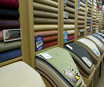 Selecting rugs and carpets in Sleaford