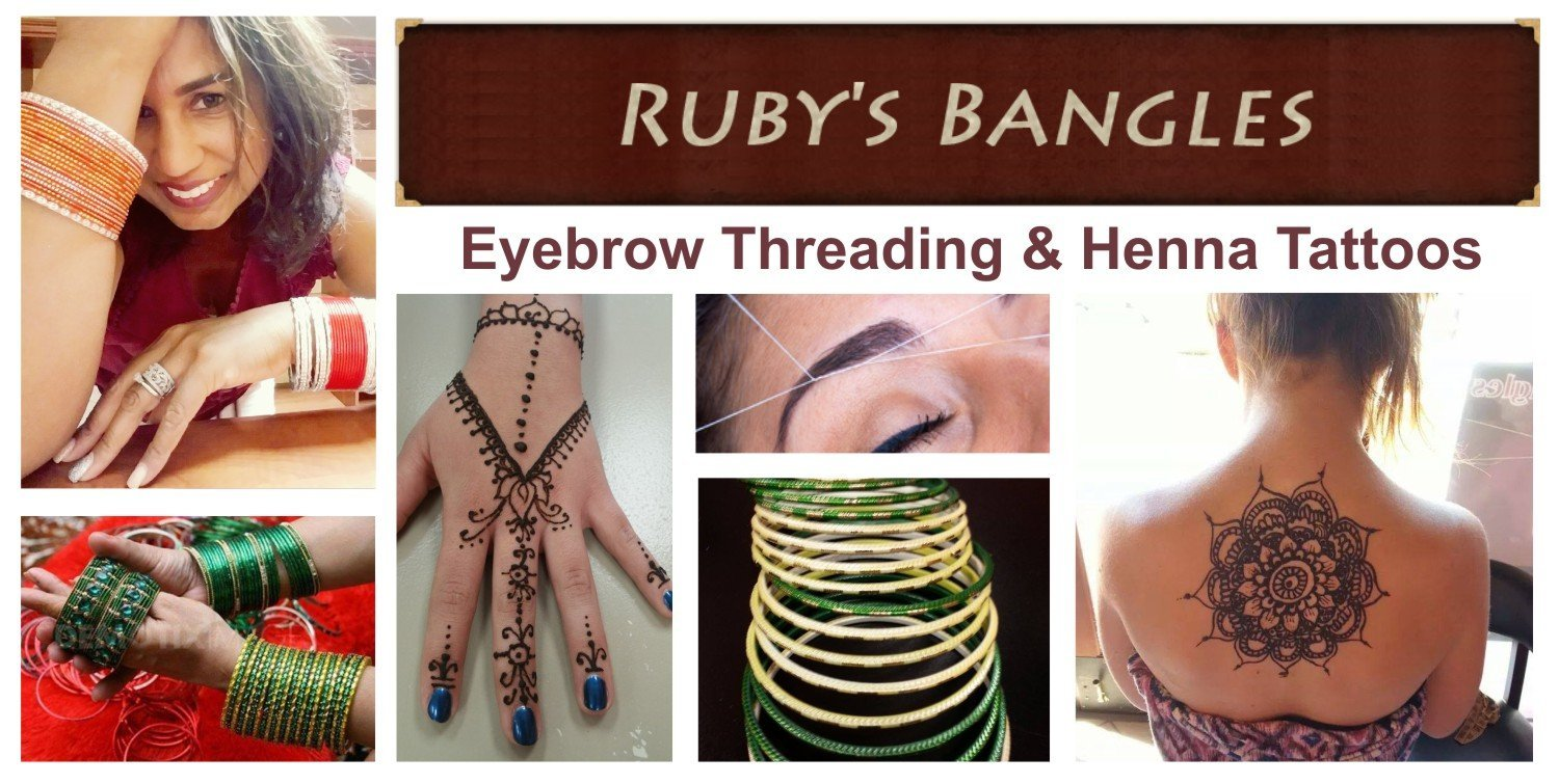Ruby's Bangles Eyebrow Threading & Henna Tattoo