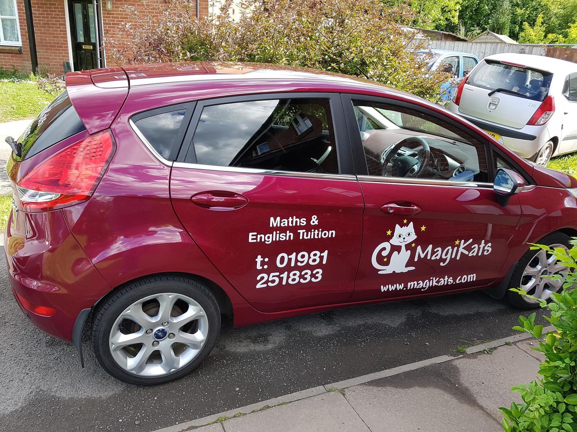 MagiKats Hereford Car 1