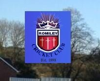 Romiley cricket club logo