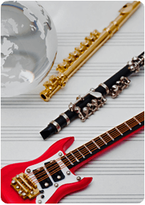 Riparazioni strumenti musicali