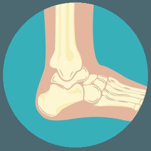 Icona ortopedica piede