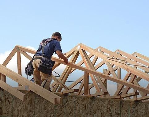 Fornitura e posa  tetti in legno