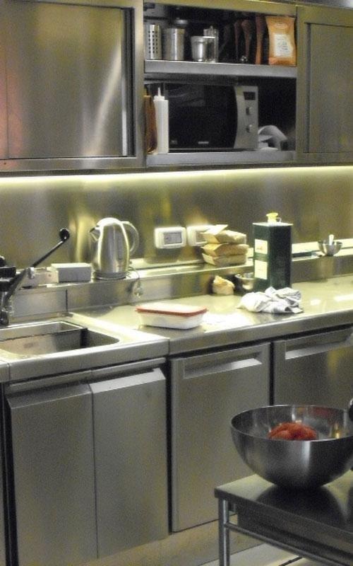 allestimento cucina ristorante