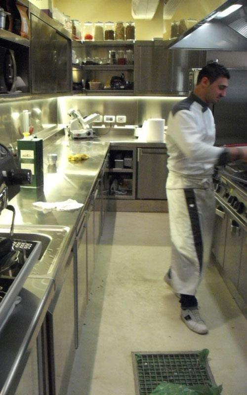 piani cottura cucine professionali