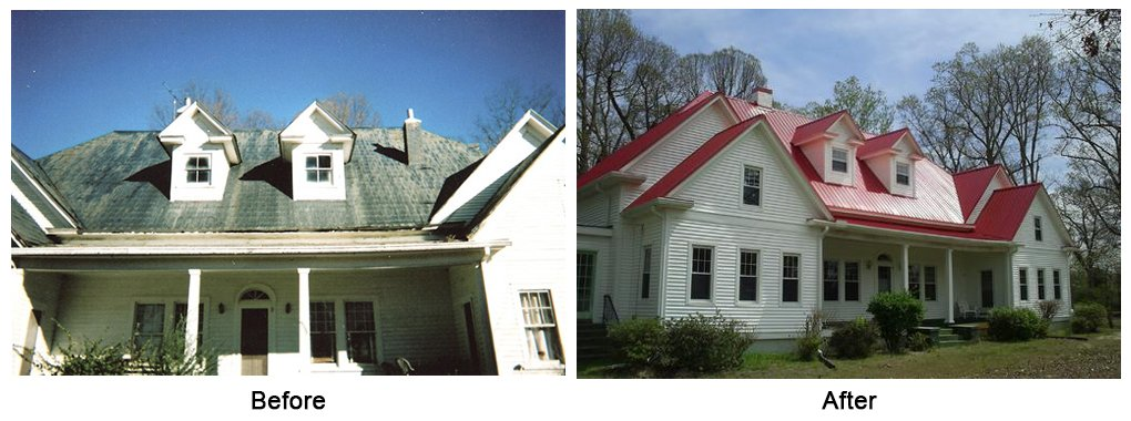 Roof Replacements Eden, NC