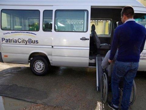 Servizi di trasporto per disabili