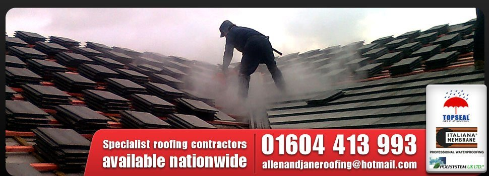 Roofing - Northampton - Allen and Jane Roofing Contractors - Home Hero