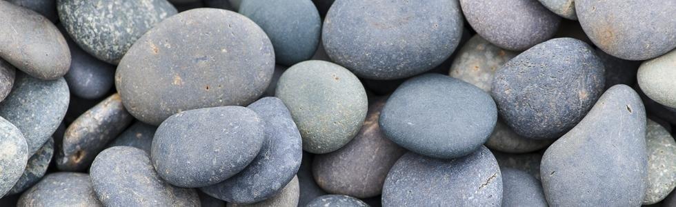 pietre di fiume per giardino