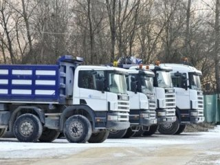 camion materiali inermi