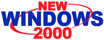 New Windows 2000 logo