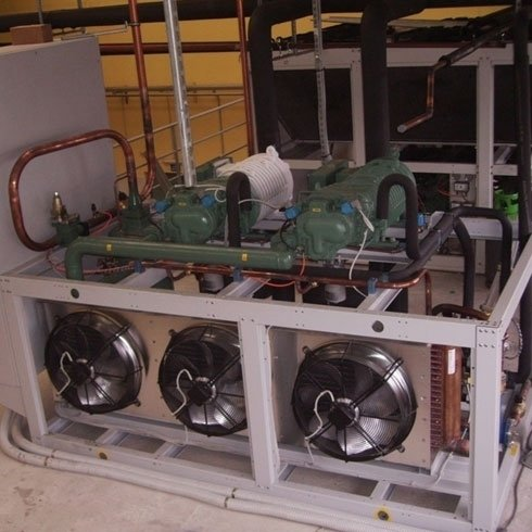 Centrale Compressori a Vite Tunnel Surgelamento