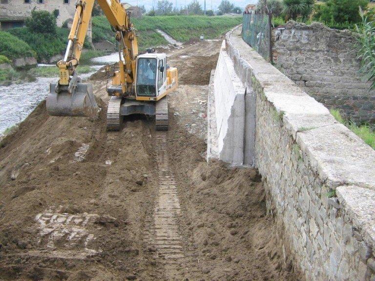 Risezionamento fluviale – Provincia di Verona – 2013