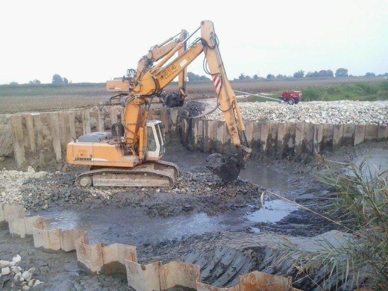 Impianto idrovoro a Codevigo (PD) – 2014