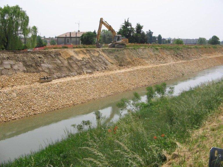 Difesa spondale – Provincia di Padova – 2012